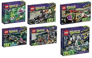 Lego Tortues Ninja Set 79100 79101 79102 79103 79104 79105