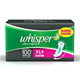 #9: Whisper Ultra Overnight Sanitary Pads XL+ wings (30 Count)
