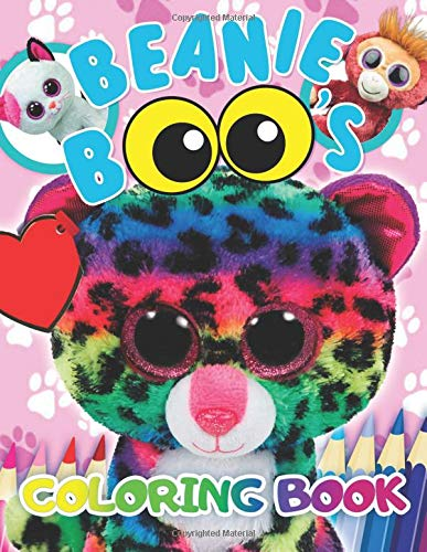 Beanie Boos Coloring Book: 34 Exclusive Illustrations