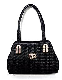 "Shafiqua High Fashionable Stylish Black Handbag For Women And Girls Search ""Shafiqua "" In The Search Bar Above..."