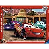 Ravensburger 06766 - Disney Cars: Autofreundschaft, 37 Teile Rahmenpuzzle
