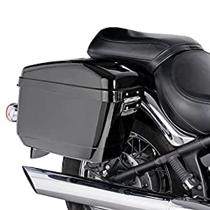 Sacoches rigides + supports latéraux Easy Harley Davidson Sportster 1200 Nightster (XL 1200 N) 08-12