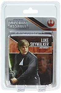 Fantasy Flight Games FFGSWI33 Luke Skywalker, Jedi Knight Ally Pack: Star Wars Imperial Assault, Multicolor