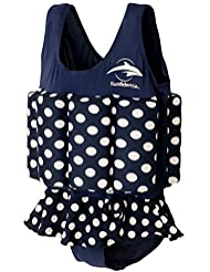 Konfidence Float Suit - Polka Dot (4-5 Years) by Konfidence