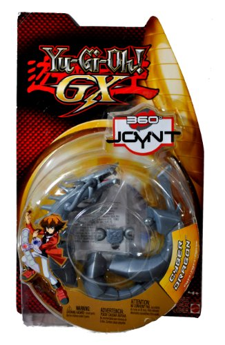Mattel Year 2005 Yu-Gi-Oh! GX 360 Joynt Series 6 Inch Tall Action Figure - CYBER DRAGON with Pop a Part Arm and Legs Feature by Yu-Gi-Oh!