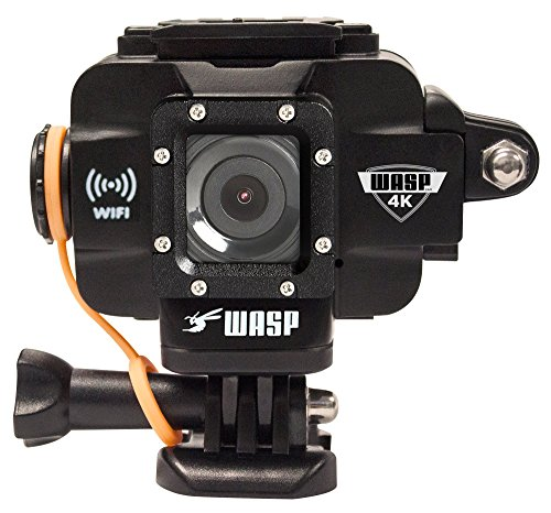 WASPcam 9907 4K Action Camera - Black