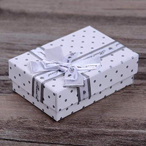 PoeHXtyy Bow-Knot Pendant Storage Box Schmuck Packaging Gift Box Showcase Geschenkboxen Schmuck Geschenkartikel