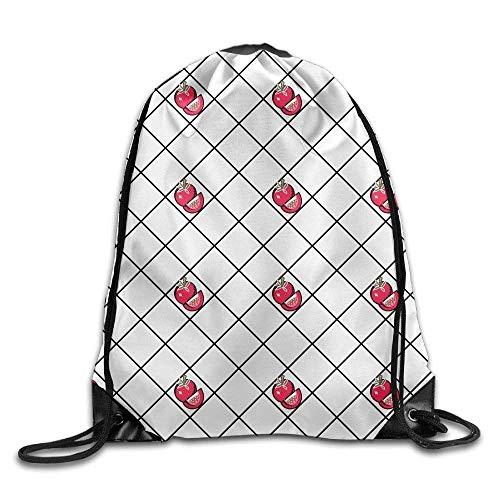 uykjuykj Tunnelzug Rucksäcke, Drawstring Bag Gym Bag Travel Backpack, Tomatoes, Drawstring Backpack for Boys Girls Black 5 Lightweight Unique 17x14 IN -