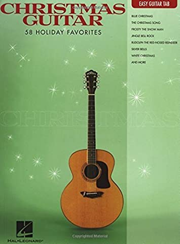 Christmas Guitar: Easy Guitar Tab (2012-08-01) (Christmas Guitar Tab)