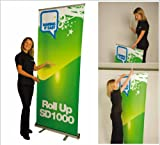 roll up banner display, impresión incluida