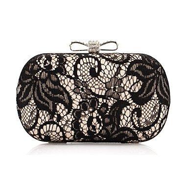 pwne L. In West Woman Fashion Spitze Bowknot Abend Tasche Gold