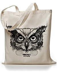 Kane Grey - Owl - Jutebeutel
