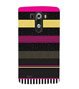 For LG G3 :: LG G3 Dual LTE :: LG G3 D855 D850 D851 D852 broad Printed Cell Phone Cases, bands Mobile Phone Cases ( Cell Phone Accessories ), ruled Designer Art Pouch Pouches Covers, stripes Customized Cases & Covers, dots Smart Phone Covers , Phone Back Case Covers By Cover Dunia