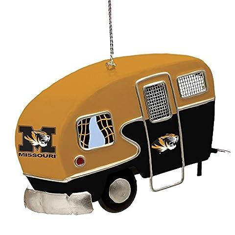 Team Sports America Metal Missouri Tigers Camper Ornament by Team Sports America