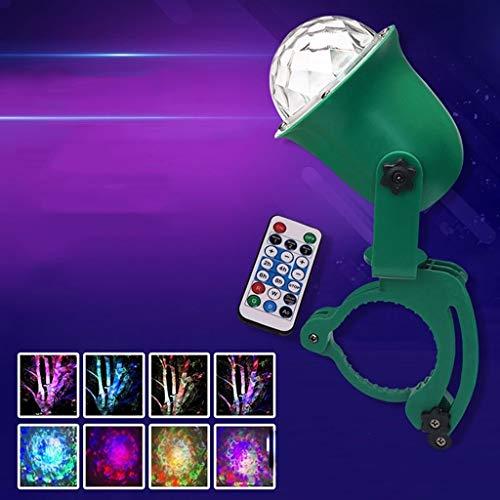 Disco kugel, LED-Baum-Projektor-Licht Dynamische Ripple Ozean-Effekt-Licht Im Freien Wasserdichten Rasen-Licht-Farbe Festival Magic Ball stage disco F1 -