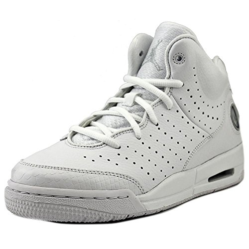 Nike Youths Jordan Flight Tradition Leather Trainers Weiß