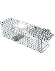 D4P Display4top Animal Trap Cage Trampa de Captura de Animales Vivos, Gatos, Perros,