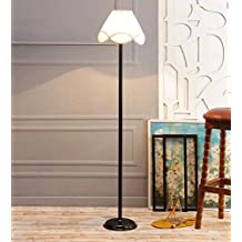 Off White Cotton Stick Floor Lamp /Standing Lamp By New Era For Living Room /Drawing Room/Office/Bedroom/Decoration /Corner/Gift/Lobby