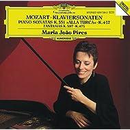 Mozart: Piano Sonatas K.457 & K.331, Fantasias K. 475 & K.397