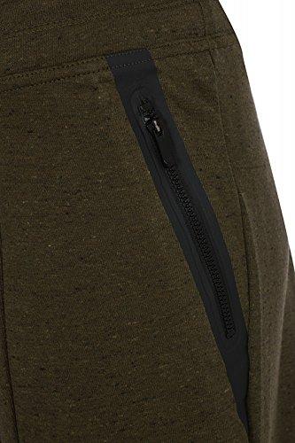 Nike W Nsw Tch Knt Flc Pant-Pantaloni da donna Verde (Dark Loden / Htr / Dark Loden / Negro)