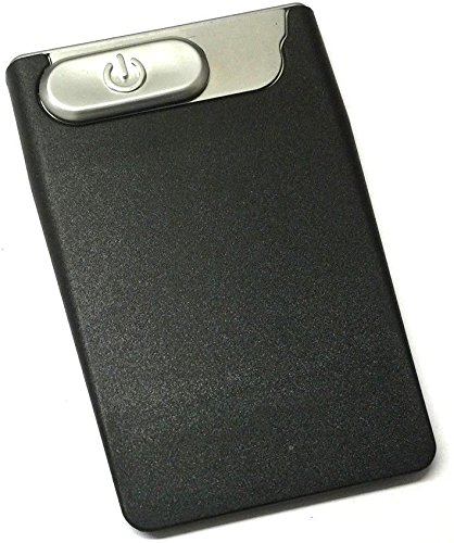 Slim Card USB Lighter (schwarz)