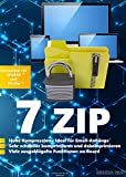 Produkt-Bild: 7 Zip Software auf CD DVD Packen> Entpacken>Komprimieren & 100% kompatibel mit WinZip, Winrar + Windows 10 / 8.1 / 8 / 7