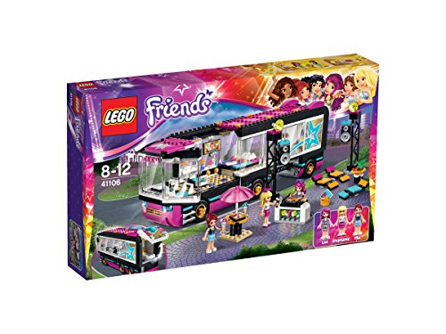 LEGO - Pop Star: autobús, multicolor (41106)