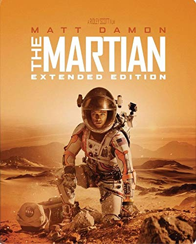 The Martian [Includes Digital Copy] [Extended Edition] [Blu-ray] [SteelBook] [2015]