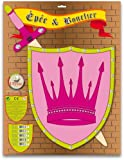 Ulysse Couleurs d'enfance - 3862 - Déguisement - Épée et Bouclier Princesse