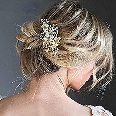 VOGUE Hair Accessories Golden Metal Hair Pin for Women