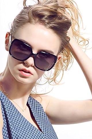 Diamond Candy Lunettes de soleil Pour Femmes Anti-UV Style Nerd Wayfarer Rétro Vintage
