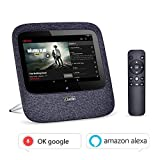 Clazio Portable Internet Radio WIFI Bluetooth Speaker Voice Control for Alexa or OK Google  Android 7.0 ,Touchable Wireless Speaker for Golf Beach Shower Home Party