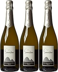Biancavigna Frizzante Non Vintage Sparkling Wine, 75 cl (Case of 3)