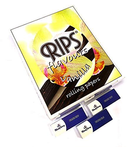 """Rips Sabores cigarrillo papel de liar en""""vainilla Sabor–24rollos por Trendz"""