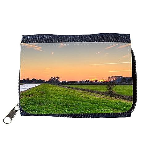 Portafoglio Borsellino portafoglio // M00313135 Paysage Ems-Jade Canal Dykhausen // Purse Wallet