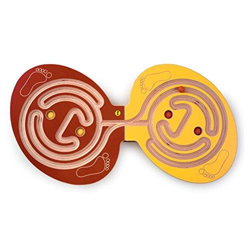 Erzi 105 x 56 x 6 cm alemán Juguete de madera Balancing Junta Duo