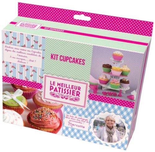 LE MEILLEUR PATISSIER 95607 MP - Juego de accesorios para hacer cupcakes (silicona y cartón)