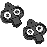 BV Bike Cleats for Shimano SPD - Spinning, Indoor Cycling & Mountain Bike Cleat Set