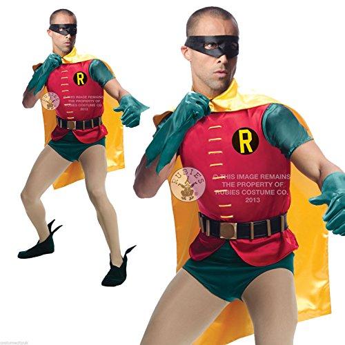 Grand Heritage Robin Kostüm (Erwachsene Kostüme Grand Batman Für Heritage)