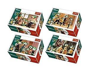TREFL 54152 Puzzle Puzzle - Rompecabezas (Puzzle Rompecabezas, Dibujos, Niños, Rodzina Treflików, Niño/niña, 4 año(s))