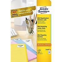Avery Zweckform-Etichette, 46 x 11,1 mm, colore: bianco -  Confronta prezzi e modelli