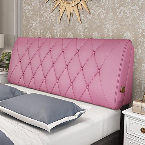 Wenzhe cuscini testiera da letto testiere capezzale cuscino della testata custodia morbida letto matrimoniale divano cuscino multifunzione ampio cuscinetto posteriore semplice moda, c'è una testata /