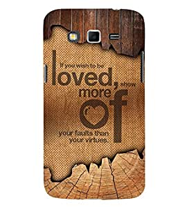 Wish To Be Love 3D Hard Polycarbonate Designer Back Case Cover for Samsung Galaxy Grand 2 G7102 :: Samsung Galaxy Grand 2 G7106