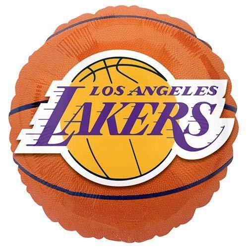Anagram Folienballon a11372802La Lakers Basketball, 45,7cm farbenreiche