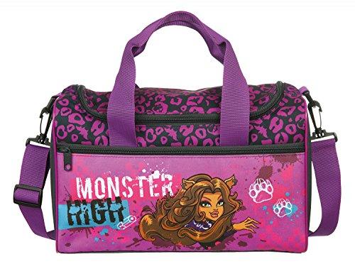 Undercover MHRZ7804 - Kinderhandtasche Monster High, ca. 33 x 23 x 10 cm Sporttasche