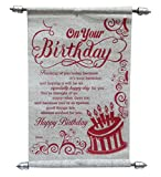 Best Husband Gifts From Wives - Natali Birthday Scroll Card for Girlfriend, Boyfriend, Wife Review