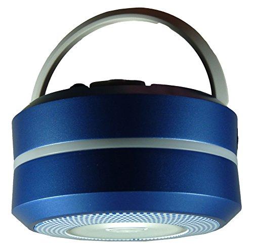 Powerplus meerkat dinamo campeggio luce torcia, in acciaio, colore: blu