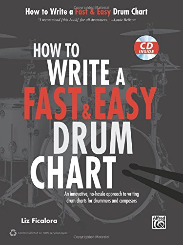 How to Write a Fast & Easy Drum Chart: An Innovative, No-Hassle Approach to Writing Drum Charts for Drummers and Composers