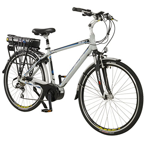 51uRtbNKf9L. SS500  - Shift Mens Lightweight Aluminium 700C Mid Drive Electric Hybrid City Bike