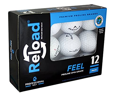 Reload Recycled Golf Balls (12-Pack) of Callaway Golf